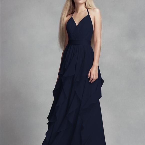 Vera Wang Dresses & Skirts - Vera Wang Bridesmaid dress Midnight size 2
